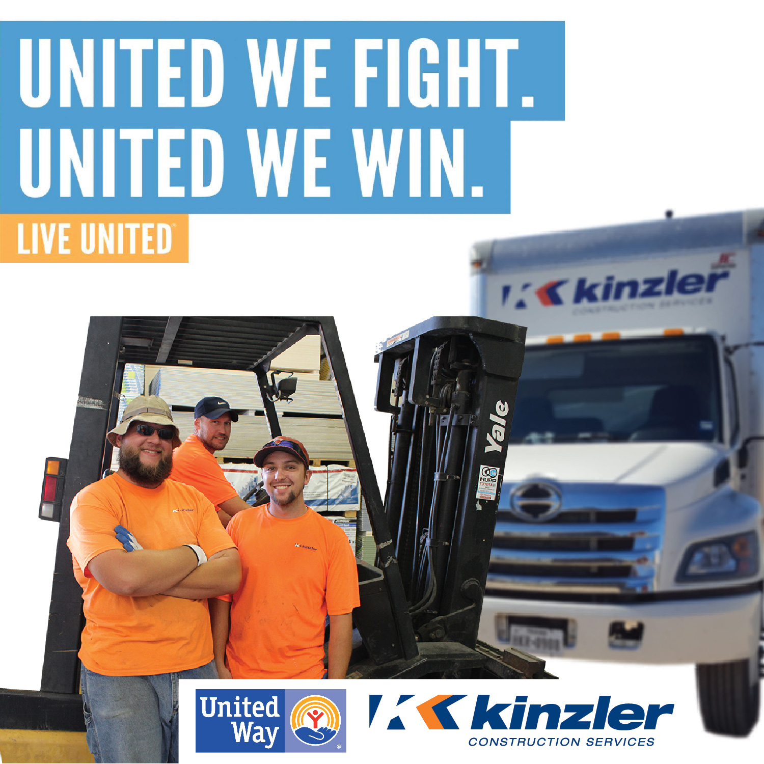 Kinzler Employee Owners Give Back To Local Communities