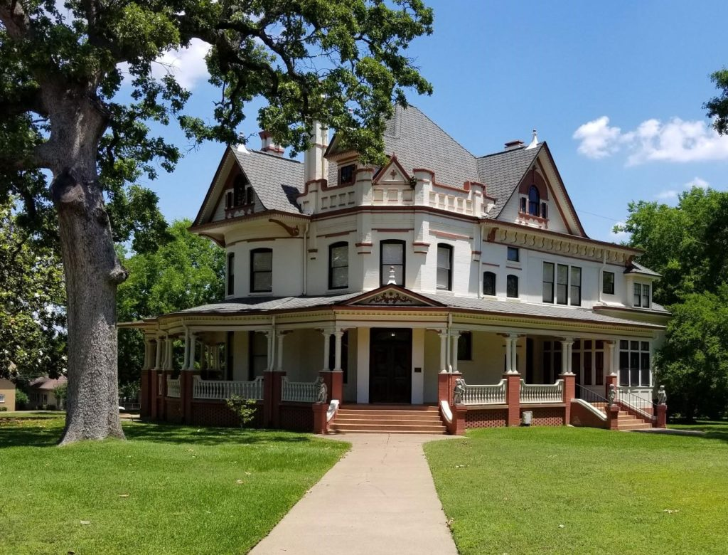 The 120+ year-old Jester-Butler-Clyde House in the historic Charnwood District of Tyler, TX.